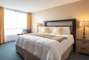 Single King Size Bed Room