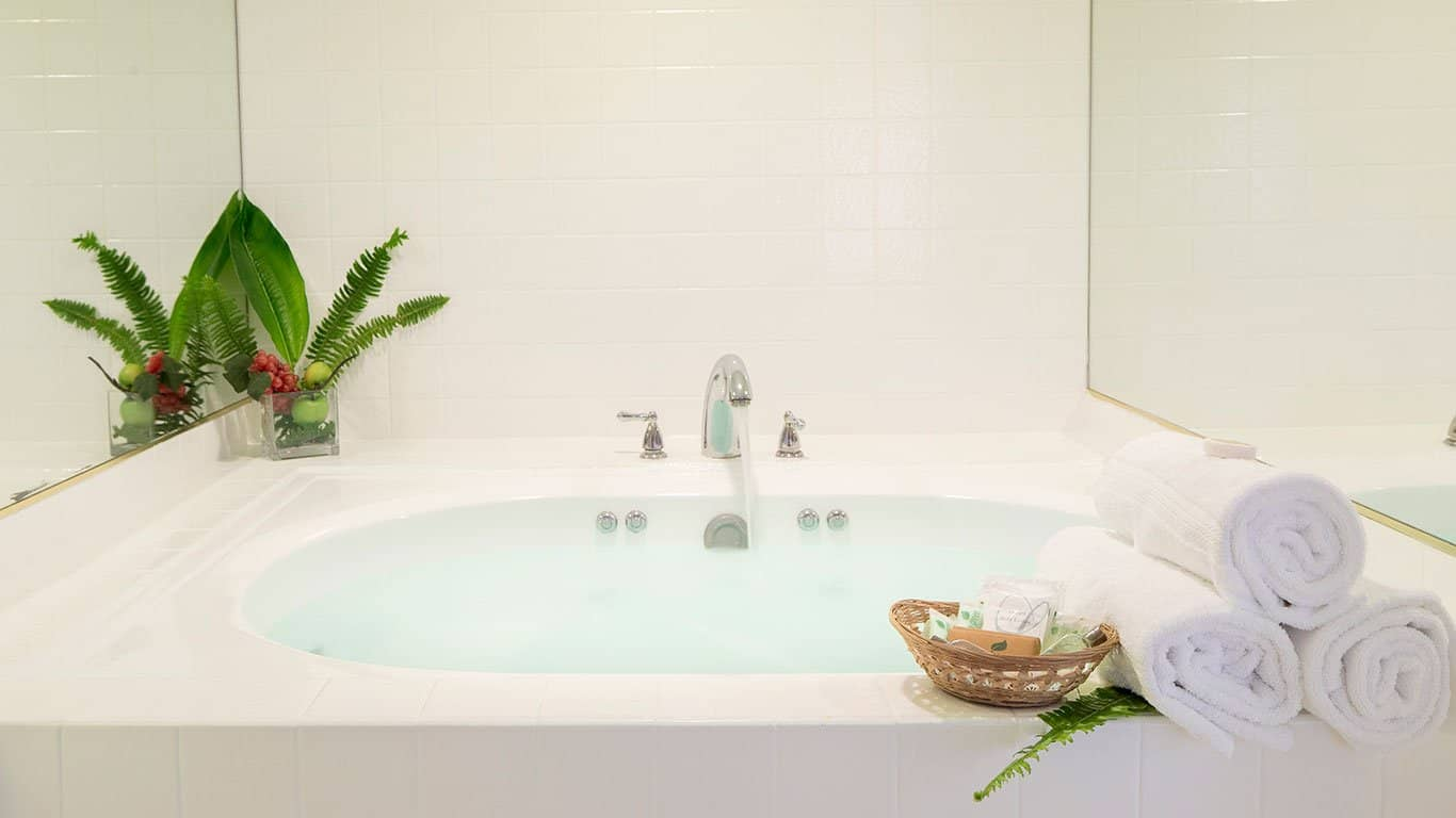 Private Jacuzzi is available for some suites. Contact us for details.