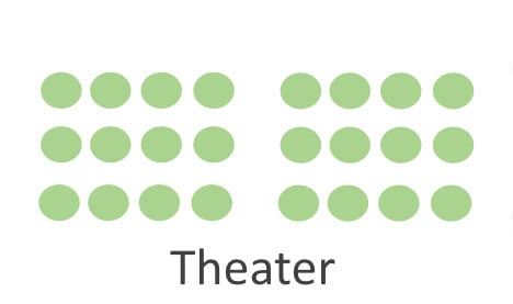 Meeting Room - Theater Setup Example